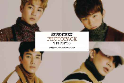 Seventeen - photopack#07 by butcherplains