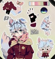 Adoptable Auction Closed- WOOF by Danny-chama