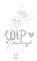 Magic Adoptable Lines WIP by BeesHoneypot