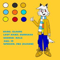 Claude Ref Sheet by phantomcub