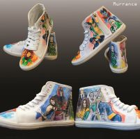 Xmen shoes by Boorza