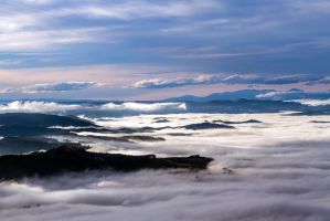 Mt Cargill Cloud by ARC-Photographic