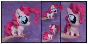 Chibi Pinkie Pie Custom Plush by Nazegoreng