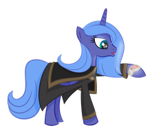 Sneak Peak: Luna, Future Princess of Angmar by shadowdark3