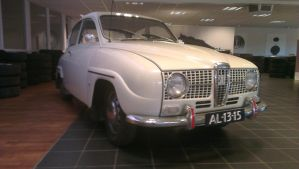 the most famous saab:Saab 96 by TheUnknownDutchMan