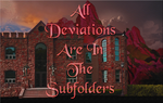 Deviations in Subfolders Sign by WDWParksGal-Stock