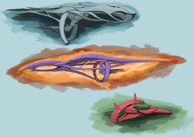 Ship Concepts by Schism-Walker