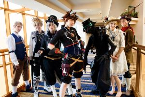 Kingdom Hearts Steampunk by KoiCosplay