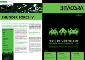 TP5 Tipografia Newspaper Cultural Section by Rowanrho