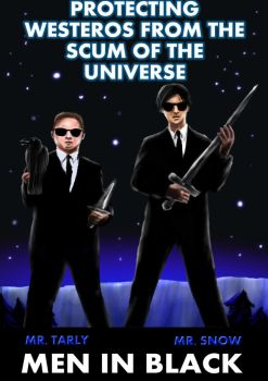 Sam and Jon Men in Black by guad