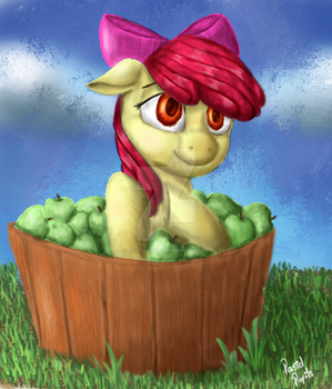 Apple Bloom by PastelPupils