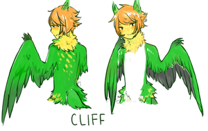 Cliff by AmberTheSatyr