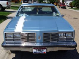 front view 1977 olds by ryanwlf33