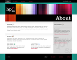 hp88 Website About Page by Holy-Promethium