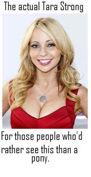 The actual Tara Strong. by saveferris2