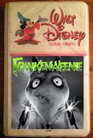 Frankenweenie VHS Cover by QuantumInnovator