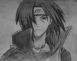 Uchiha Itachi by Lemon-Yelloww