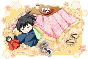 30 Day OC Challenge: Day 7 - Kotatsu by Kyoukouo