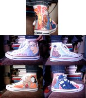 Dr Who Shoes by ArtHritis