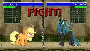 Pony Kombat Tournament Round 1, Battle 1 by Macgrubor