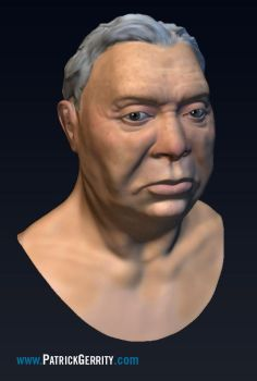 Mudbox Head Sculpt Final by mebooky