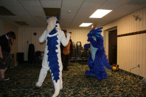 Dancing dragons by Rathkin