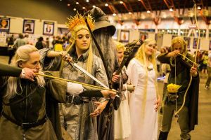 my thranduil cosplay by queenofsass