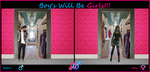 Boys will be Girls by MissEvaMadison