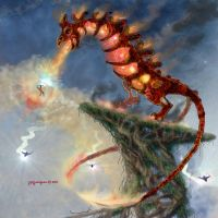 6811 Colossus FireTails by Dragonforge