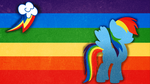 Rainbow Dash Wallpaper by Emby-Spark