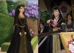 Catherine of Aragon's Favor by msbrit90