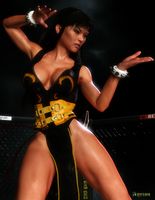 Chun Li by Agr1on