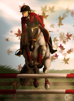 SVI Schooling Show - Show-Jumping by FeatherCandy
