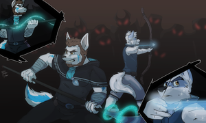 [COM] Brothers in Arms by FrostyPuppy