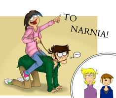 TO NARNIA! by PolisBil