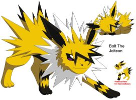 Adopted:Bolt the jolteon by Niffykid-Adoption