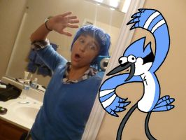 Mordecai Wig Completion Celebration! by Joluvv