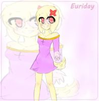 Mah oc Euriday by JoannaMissy