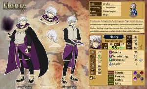 FE - Henry Sheet by InnocentiaSanguinis