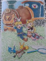 LoZ: Rabbit Hunting by angelic-swordien
