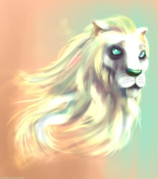 Lion... or something by IsabelleAuditore