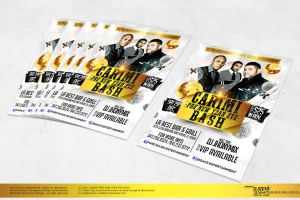 Carimi Bash Party Flyer - Front by Gallistero