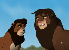 So ... you're Kovu by sbrigs