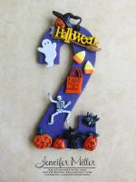 Halloween Cake Topper by ArteDiAmore