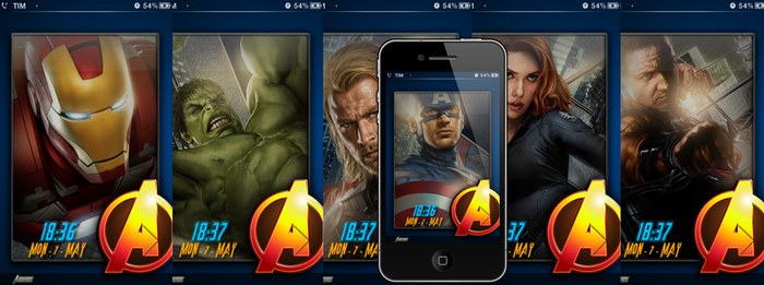 - updated - The Avengers LS SS by poetic24