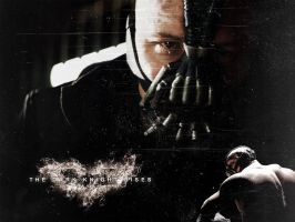 The Dark Knight Rises - Bane Wallpaper by lucyfur1987