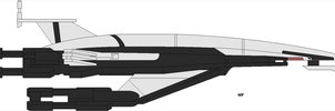 SR1 Normandy WIP by JohnnyMuffintop