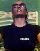 Jacque Cocaine T-shirt by chimeramindstudio