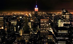 NY. From Top of the Rock. by inbrainstorm