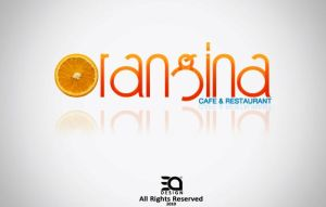 Orangina Cafe Logo by ebnyousry